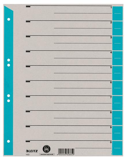 Color Buchstabensignale A 250 St/ück auf Rolle wei/ß Farbsystem Leitz//Elba